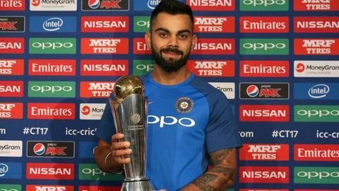 Champions Trophy: Captain Kohli's first ICC tournament