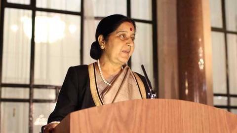 Sushma Swaraj asks Amazon to apologize for disrespecting Indian flag