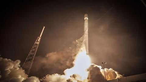 SpaceX launches its 10th resupply mission from historic moon pad